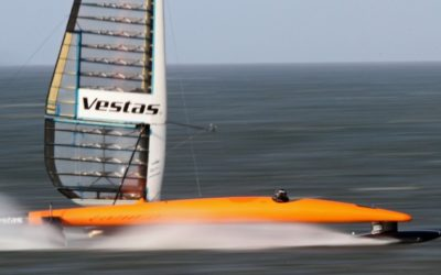 In pursuit of the world sailing speed record