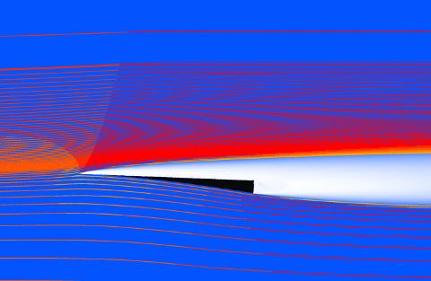 Optimisation d'hydrofoils superventilants grâce à ANSYS Fluent, CADFEM et l'intelligence artificielle