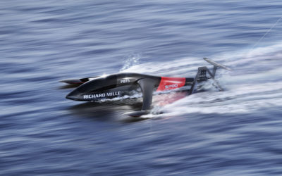 RICHARD MILLE teams up with SP80 to break the World Sailing Speed Record !